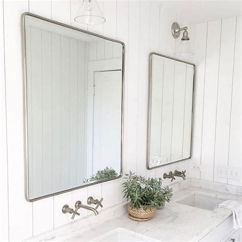 pottery barn bathroom mirrors best 25 pottery barn mirror ideas on pinterest