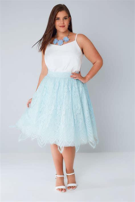 Check Finish Line Gift Card Balance - chi chi blue lace mesh midi skater skirt with eyelash hem plus size 16 to 26