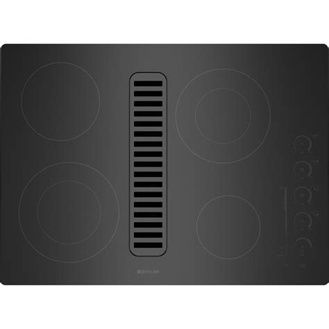 Downdraft Cooktops Jed4430wb Jenn Air 30 Quot Downdraft Radiant Cooktop Black On Black Deals Appliances