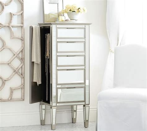 Park Mirrored Dresser by Park Mirrored Jewelry Tower Pottery Barn
