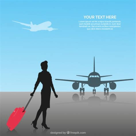 Flight Attendant Background Check Flight Attendant Silhouette Www Pixshark Images Galleries With A Bite
