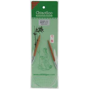 chiaogoo knitting needles reviews chiaogoo premium bamboo 12 circular knitting needles size 8