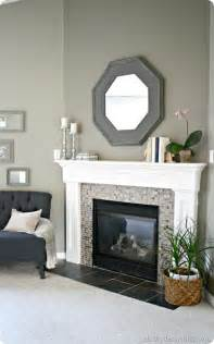 mantel redo from thrifty decor