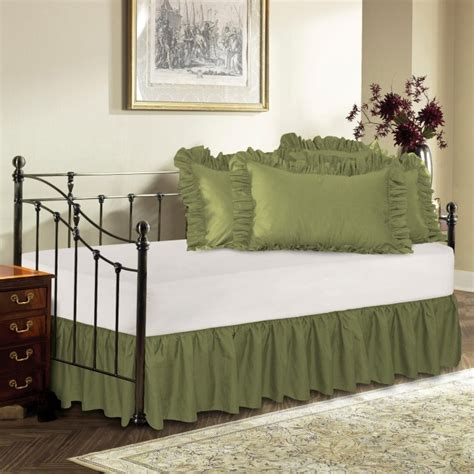 news daybed bedskirt on bed skirts for beds dust ruffles