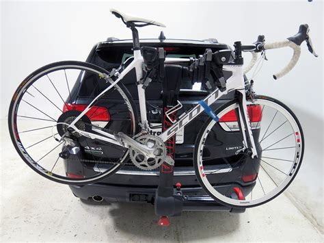 acura mdx yakima fullswing 4 bike rack 2 quot hitches swinging