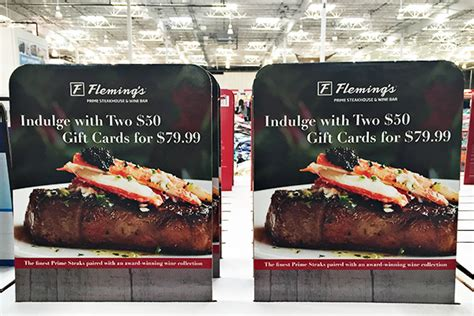 Flemings Steakhouse Discount Gift Cards - flemings gift cards lamoureph blog