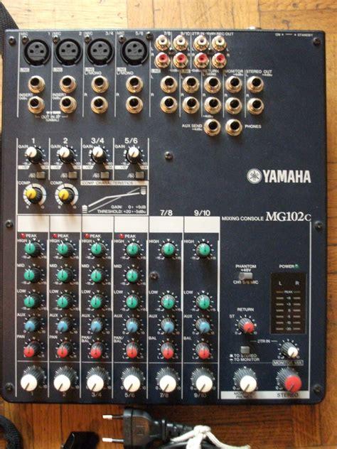 Mixer Yamaha Original yamaha mg102c image 447893 audiofanzine