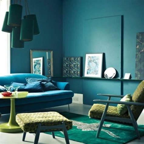 Blaues Sofa Welche Wandfarbe by Die Wundersch 246 Ne Und Effektvolle Wandfarbe Petrol