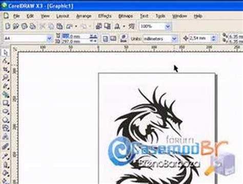 tutorial desain grafis corel draw x3 coreldraw x3 tutorial vetor youtube