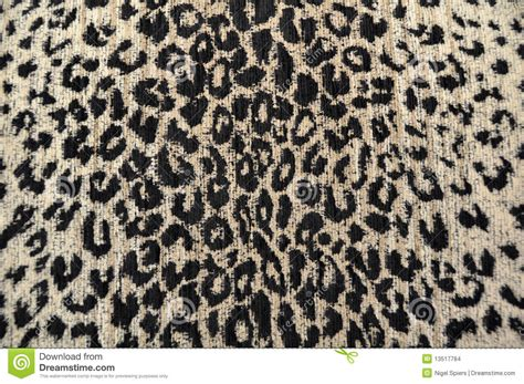 black and cream upholstery fabric leopard fabric black cream stock photo image 13517784