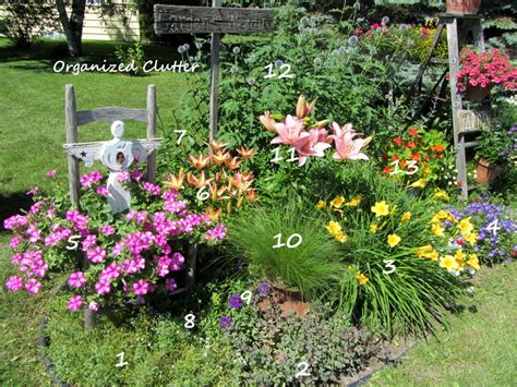 perennial garden plans zone 3 plantscapes cottage garden with plant key