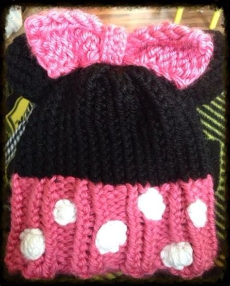 loom knit minnie mouse hat 17 best images about hat loom on hats ears