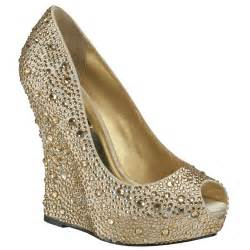 gold wedges shoes benjamin shoes