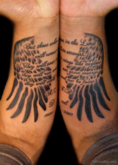 eagle wrist tattoo wings tattoos designs pictures page 4