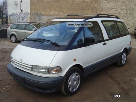 old car repair manuals 1995 toyota previa security system 1995 toyota previa 7 seater checksheet car photo and specs