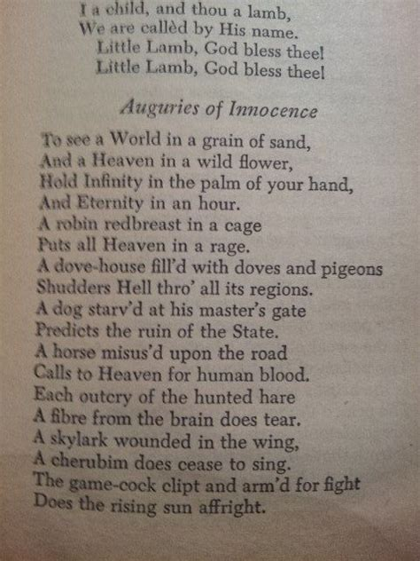 auguries of innocence auguries of innocence william blake great poetry prose famou