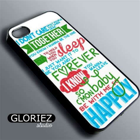 1d One Direction Happily Lyric Iphone one direction happily lyrics iphone 4 4s 5 by