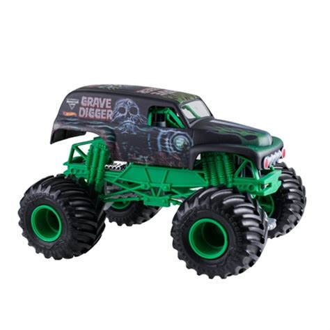 wheels grave digger truck jam wheels