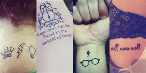 small harry potter tattoo ideas 20 magical harry potter inspired tattoos