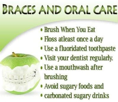 7 Tips On Taking Care Of Your by 17 Best Images About Taking Care Of Your Braces On