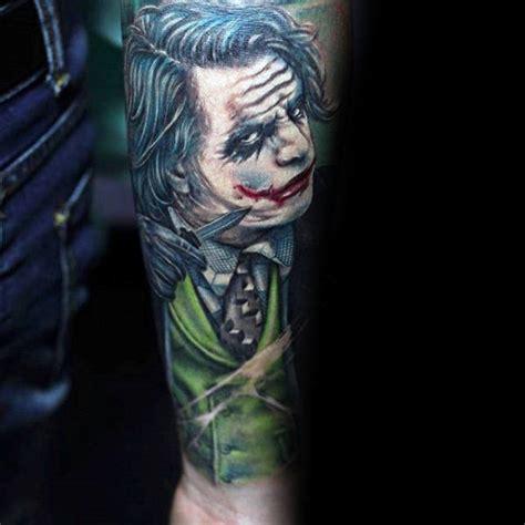 tattoo inspiration male sleeve 90 joker tattoos for men iconic villain design ideas