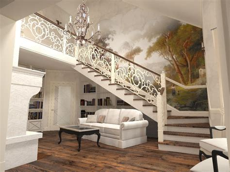 Living Room With Stairs Design How To Design A Living Room Stairs To Make It Look More Attractive Orchidlagoon