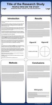 Powerpoint Poster Template 90 X 120 by Free Powerpoint Scientific Research Poster Templates For