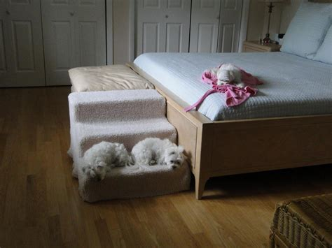 dog bed with stairs dog stairs for high bed step knowing before build dog
