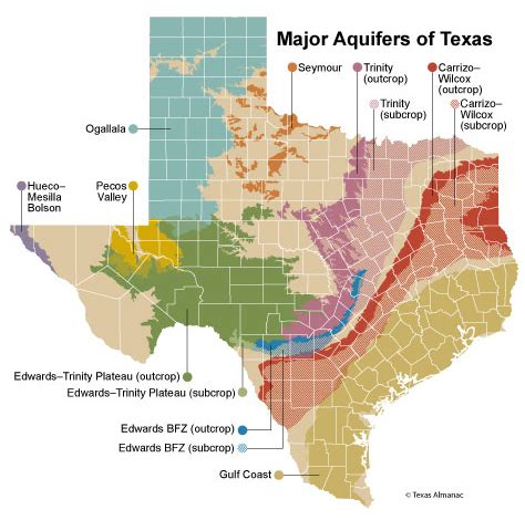 texas water aquifer map texas am study texas water disappearing dallas drilling s