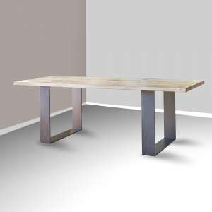 Table A Manger Style Industriel 912 by Mobilier Industriel Soldes 4 Pieds