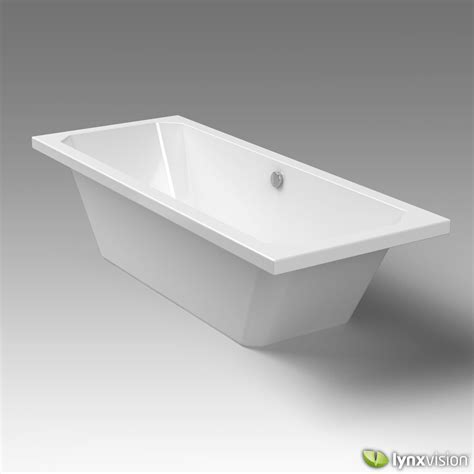 duravit bathtub 1930 series 3d model max obj fbx c4d
