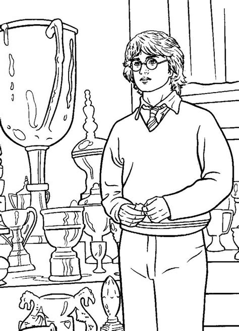 harry potter coloring book colored free printable harry potter coloring pages for