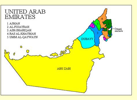 uae states map adam carr s electoral archive