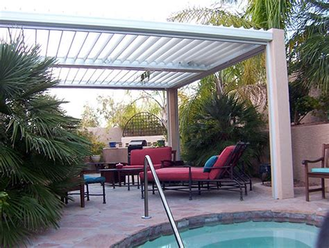 equinox louvered roof solar powered  motorized