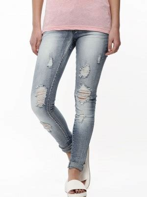 Jegging 7 8 Black Ripped 27 30 ripped shop india in dieser saison