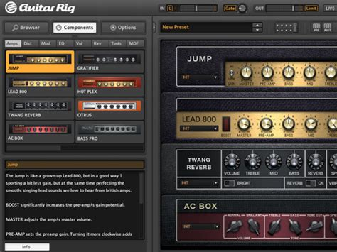 tutorial guitar rig 4 how to get great guitar tones with guitar rig 4 le in
