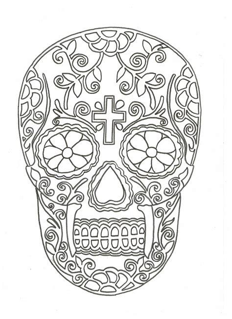 calavera mexicana dibujo calavera skull template www pixshark com images
