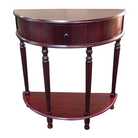 Cherry End Tables Shop Ore International Painted Cherry End Table At Lowes