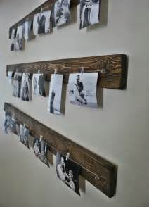 Hanging Pictures With Wire And Clips Fotowand Selber Machen Ideen F 252 R Eine Kreative Wandgestaltung