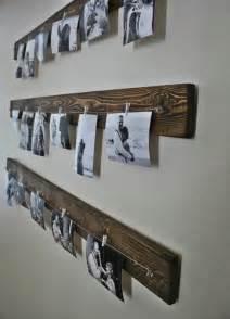 hanging photo display fotowand selber machen ideen f 252 r eine kreative wandgestaltung
