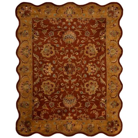 Safavieh Heritage Rug by Safavieh Heritage 8 Ft X 10 Ft Area Rug