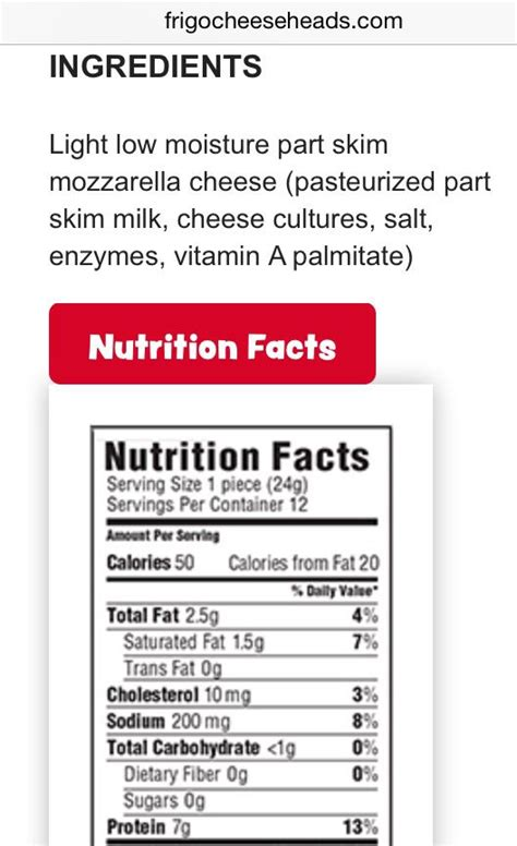zucchini pizza boats nutritional info frigo light string cheese nutritional information besto blog