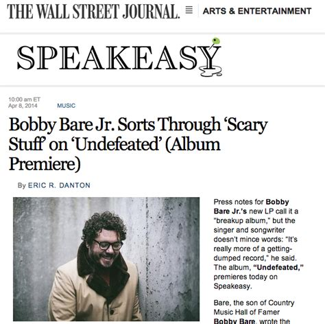 lyrics bobby bare jr bobby bare jr s undefeated is a week ahead of