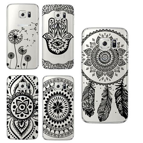 Casing Samsung S7 Mandala Pattern Custom floral paisley flower mandala cover for samsung galaxy s3 s4 s5 s6 s7 edge s4 s5 mini a3 a5