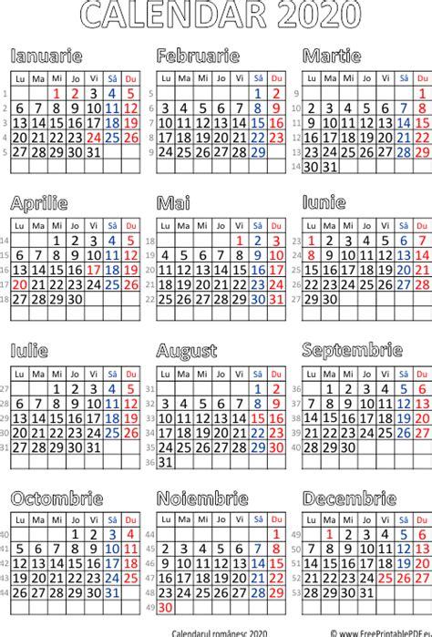 calendar   romania calendario