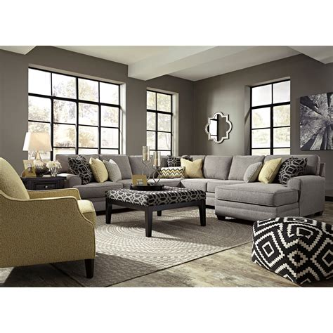 living room furniture cleveland benchcraft cresson stationary living room northeast factory direct stationary living