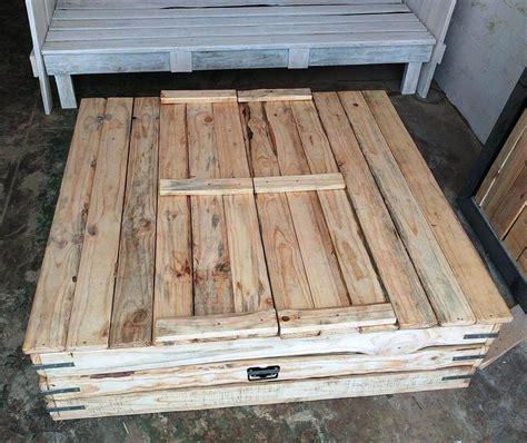 pallet pit diy pallet sandbox or sand pit for kiddies 99 pallets