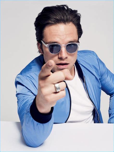Sebastian Stan Rocks Sunglasses for American GQ Style