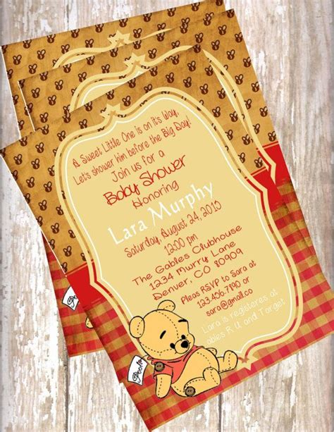 Vintage Winnie The Pooh Baby Shower by 1000 Ideas About Vintage Baby Showers On Baby