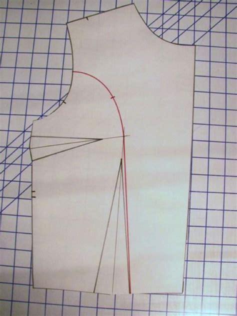 pattern drafting princess line dress how to manipulate darts on a bodice to make princess seams